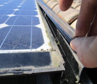 Réparation photovoltaique suite problème