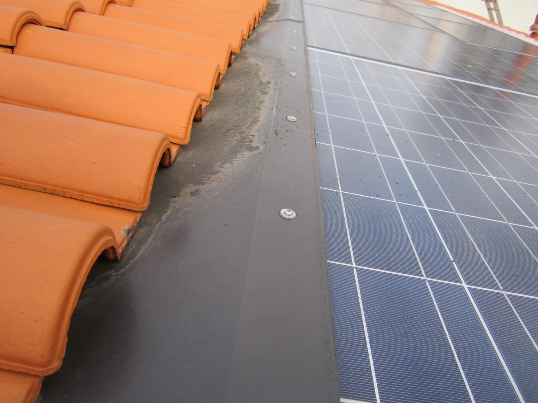 Réparation solaire toiture photovoltaique